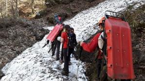 Intervenție dificilă a Salvamont, în Bucegi: a fost descoperit un cadavru