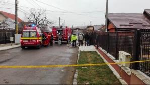 Crimă şocantă la Neamţ: Și-a ucis copilul și mama soacră după care a dat foc la casă