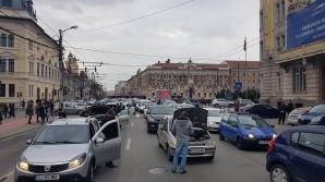 SIEU - protest Cluj