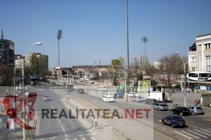 Stadionul Rapid a fost demolat. Foto: Cristian Otopeanu