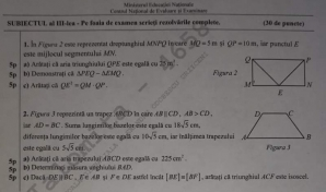 subiecte simulare matematica clasa a 8-a si a 7-a