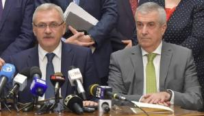 LIviu Dragnea, alături de Călin Popescu-Tăriceanu