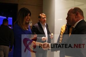 Traian Basescu, la Realitatea TV. Foto: Cristian Otopeanu