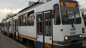 Trafic blocat pe linia tramvaiului 41 din cauza unui accident
