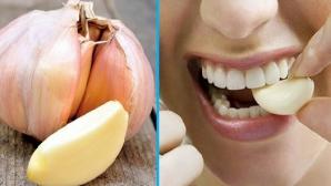 Ce se întâmplă în corpul tău dacă mănânci 6 căței de usturoi într-o zi