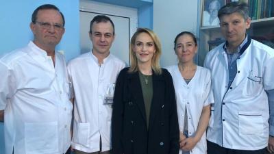 Gabriela Firea s-a externat după intervenția chirurgicală de săptămâna trecută