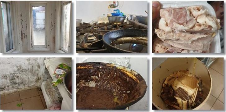Imagini teribile din bucătăria unei firme de catering din Timișoara