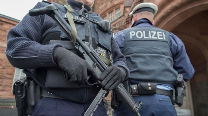 Poliție Germania - imagine arhivă