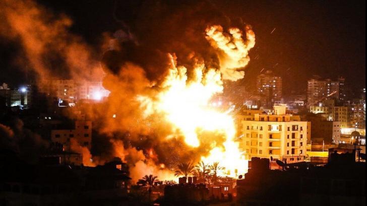 Clădirea cu birourile agentiei Associated Press, distrusa în urma unui atac israelian