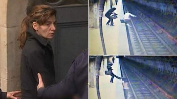 Criminala de la metrou, condamnată la închisoare pe viaţă