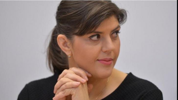Kovesi, anchetată la București, premiată la Bruxelles