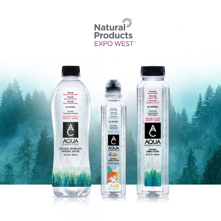 <p>AQUA Carpatica, singurul brand românesc prezent la Natural Products Expo West din California (P)</p>