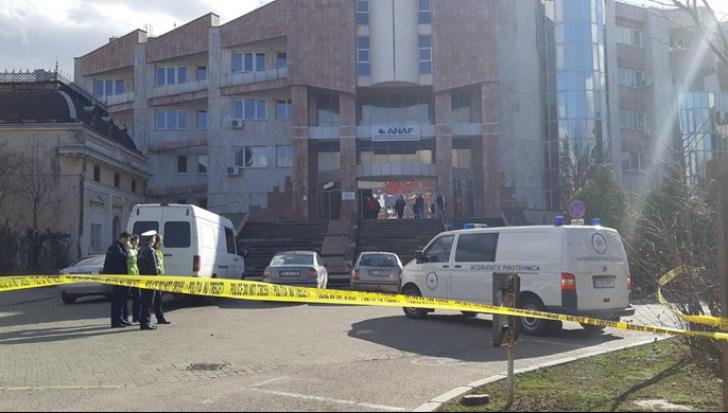 Amenințarea cu bombă la sediul ANAF Botoșani