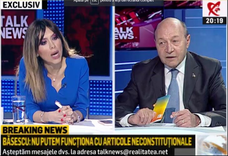 Traian Băsescu, o nouă lovitură de teatru: e primul pe listă la europarlamentare