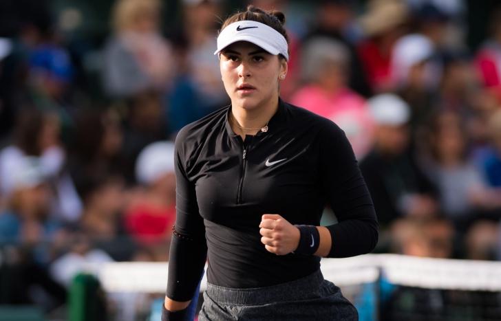 Bianca Andreescu, parcurs fenomenal la Indian Wells