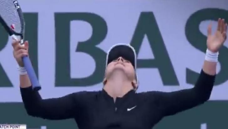 Bianca Andreescu, victorie la Indian Wells și calificare în sferturi