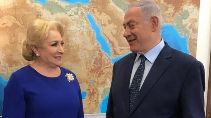Dăncilă pleacă în SUA. Premierul, la o conferință care celebrează parteneriatul dintre SUA și Israel