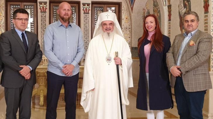 Patriarhul Daniel, întâlnire cu șeful de campanie al președintelui SUA