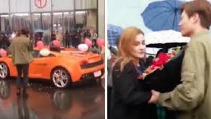 A cerut-o în căsătorie disperat, cu un Lamborghini cadou. Ce i-a răspuns ea l-a lăsat fără cuvinte