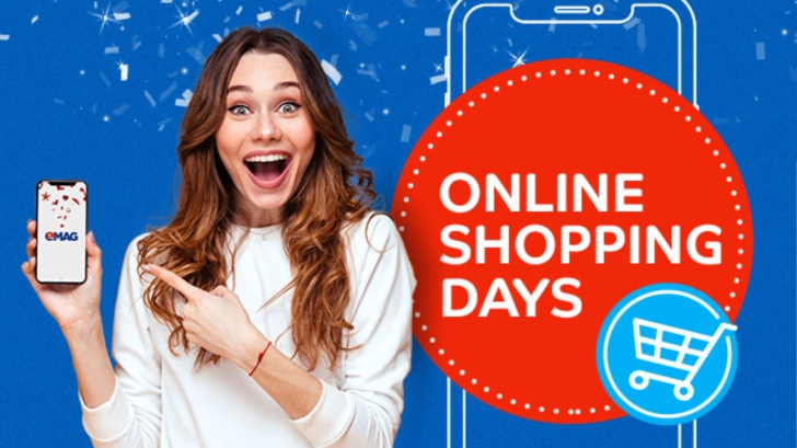 eMAG Online Shopping Days – O promotie unica, inedita si cu discounturi de 20%