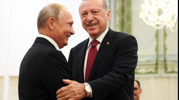 Erdogan, relație prea apropiată cu Putin
