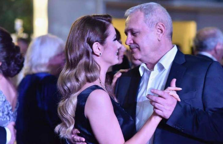 Liviu Dragnea alături de Irina Tănase
