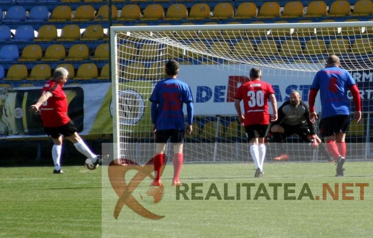 Golul marcat de Ioan Andone din penalty.Foto: Cristian Otopeanu