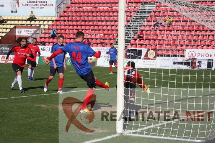 Golul marcat de Dorin Goian. Foto: Cristian Otopeanu
