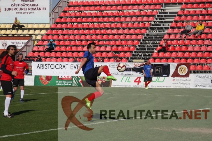 Golul marcat de Nicolae Dica. Foto: Cristian Otopeanu