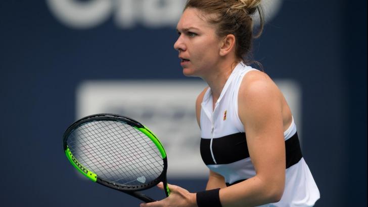 Simona Halep, eliminată la Miami în semifinale
