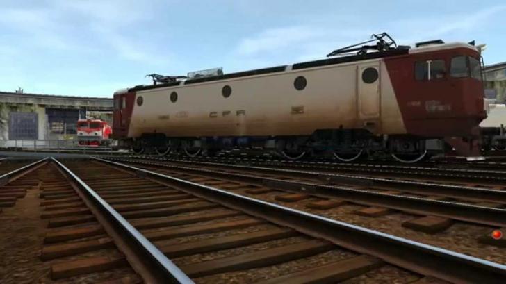 Locomotivă deraiată în Depoul București. Circulația feroviară este blocată