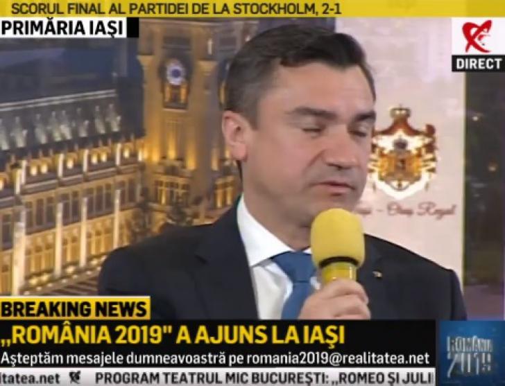 România 2019 : Mihai Chirică - Iaşiul pregăteşte un independent pentru europarlamentare