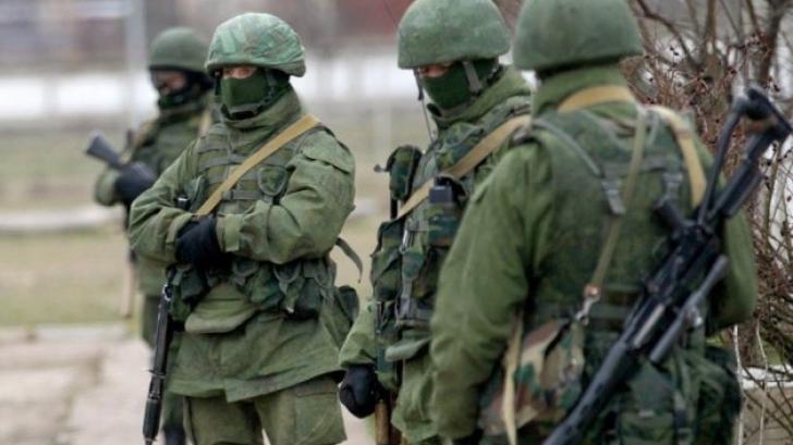 Militari ruși fără însemne