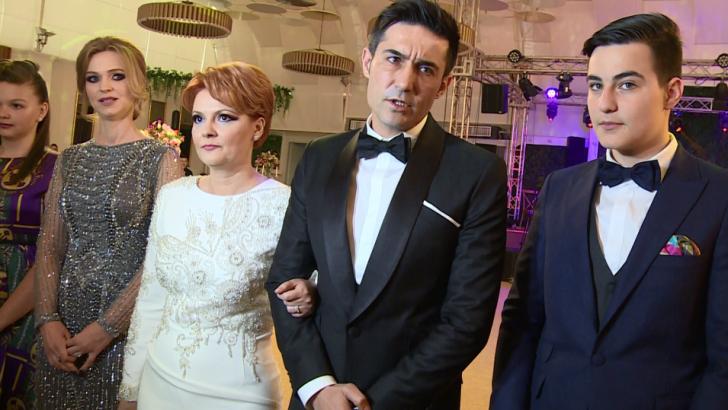 Nuntă în post: Olguţa Vasilescu şi Claudiu Manda, petrecere cu 500 de invitați, inclusiv Dragnea