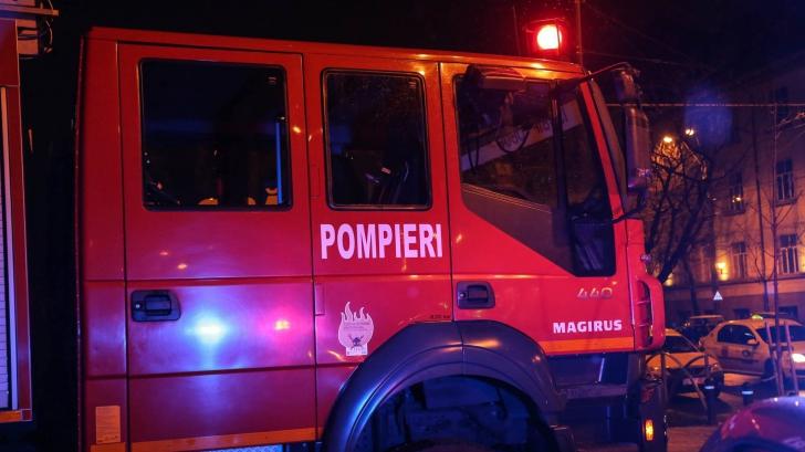 Incendiu violent la sediul unei televiziuni locale din Focșani / Foto: Arhivă