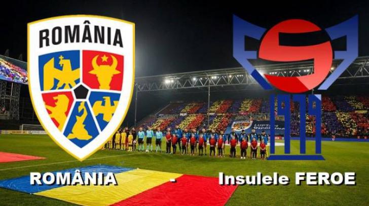 România – Insulele Feroe, în preliminariile EURO 2020