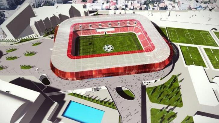 """Speranțe pentru Dinamo! """"Stadion de 30 de milioane de euro"""""""