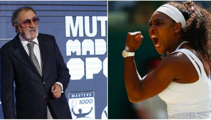 Ion Ţiriac a primit o veste devastatoare de la Serena Williams. Americanca s-a răzbunat
