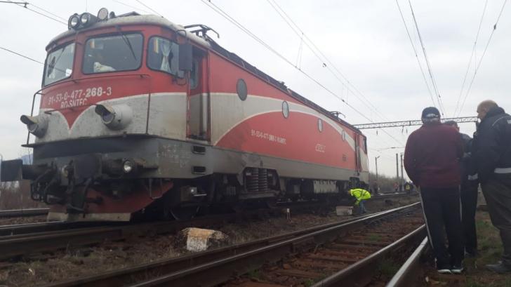 Tren deraiat în județul Brașov(Video)