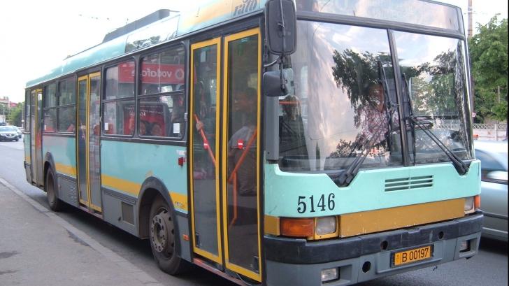 Accident cu troleibuz în Centrul Capitalei