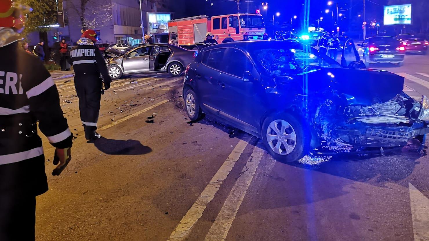 Accident grav în Constanţa