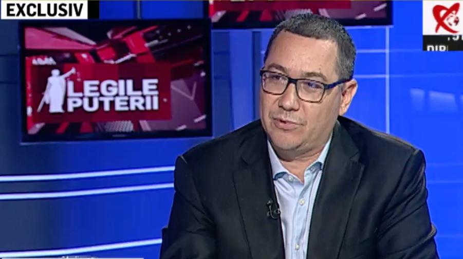 Ponta, la Realitatea TV