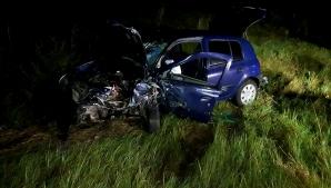 Accident cu 4 victime, pe un drum național din Olt