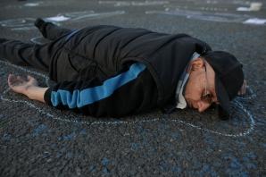 """Protest """"VICTIMELE STATULUI MAFIOT - PIATA VICTORIEI"""", 24 aprilie 2019"""