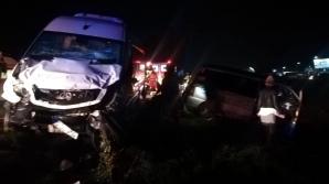 Accident grav la Leţcani. Două microbuze s-au ciocnit:27 de persoane implicate. Planul roşu, activat