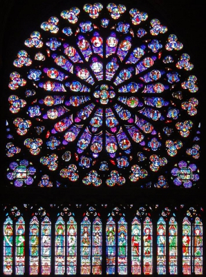 <p>Notre-Dame de Paris, devastată de incendiu</p>
