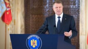 ORA 19.00: Klaus Iohannis, declaraţii cu privire la referendumul pe justiţie