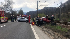 Accident grav pe DN1, la Timişul de Jos
