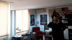 Primarul PNL care avea un tablou cu Ceaușescu, exclus din partid. A bătut un polițist local