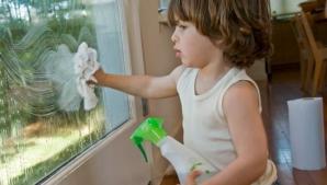 Cum se spală corect şi rapid geamurile